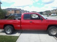 1998 Dodge Ram 1500 4 Dr Laramie SLT Extended Cab SB, Haulin 1,920 lbs of grass and mud, exterior