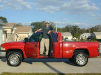 1998 Dodge Ram 1500 4 Dr Laramie SLT Extended Cab SB, First day at a new home., exterior
