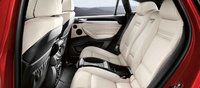 2013 BMW X6, interior rear view, interior, manufacturer