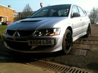 2004 Mitsubishi Lancer Evolution, 2008 Mitsubishi Lancer Evolution MR picture, exterior