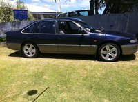 1994 Holden Calais, The calais just after she got new shoes, exterior