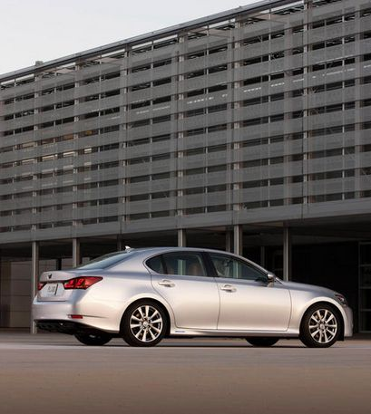 2013 Lexus GS 450h, Rear quarter, manufacturer, exterior