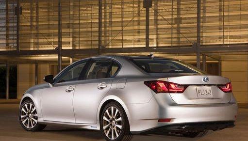 2013 Lexus GS 450h, Rear quarter, exterior, manufacturer