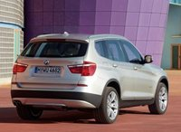 2013 BMW X3, Rear quarter, exterior, manufacturer