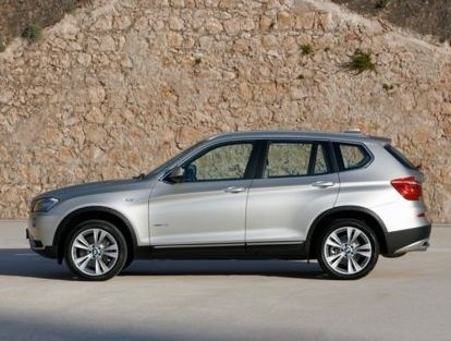 2013 BMW X3, Side view, exterior, manufacturer