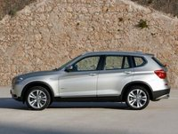 2013 BMW X3, Side view, manufacturer, exterior