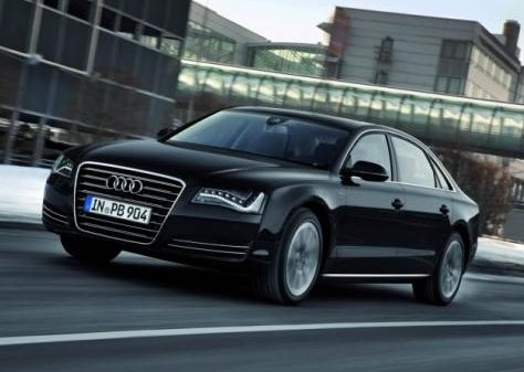 2013 Audi A8, Front quarter, exterior, manufacturer, gallery_worthy