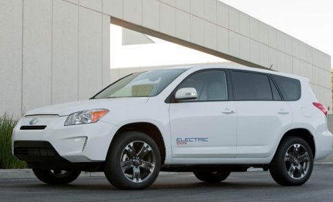 2013 Toyota RAV4, Front quarter view. , exterior, manufacturer