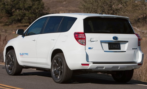 2013 Toyota RAV4, Back quarter view. , exterior, manufacturer