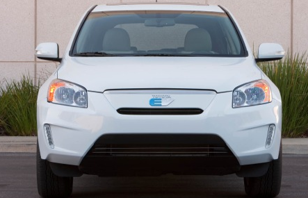 2013 Toyota RAV4, Front View. , exterior, manufacturer