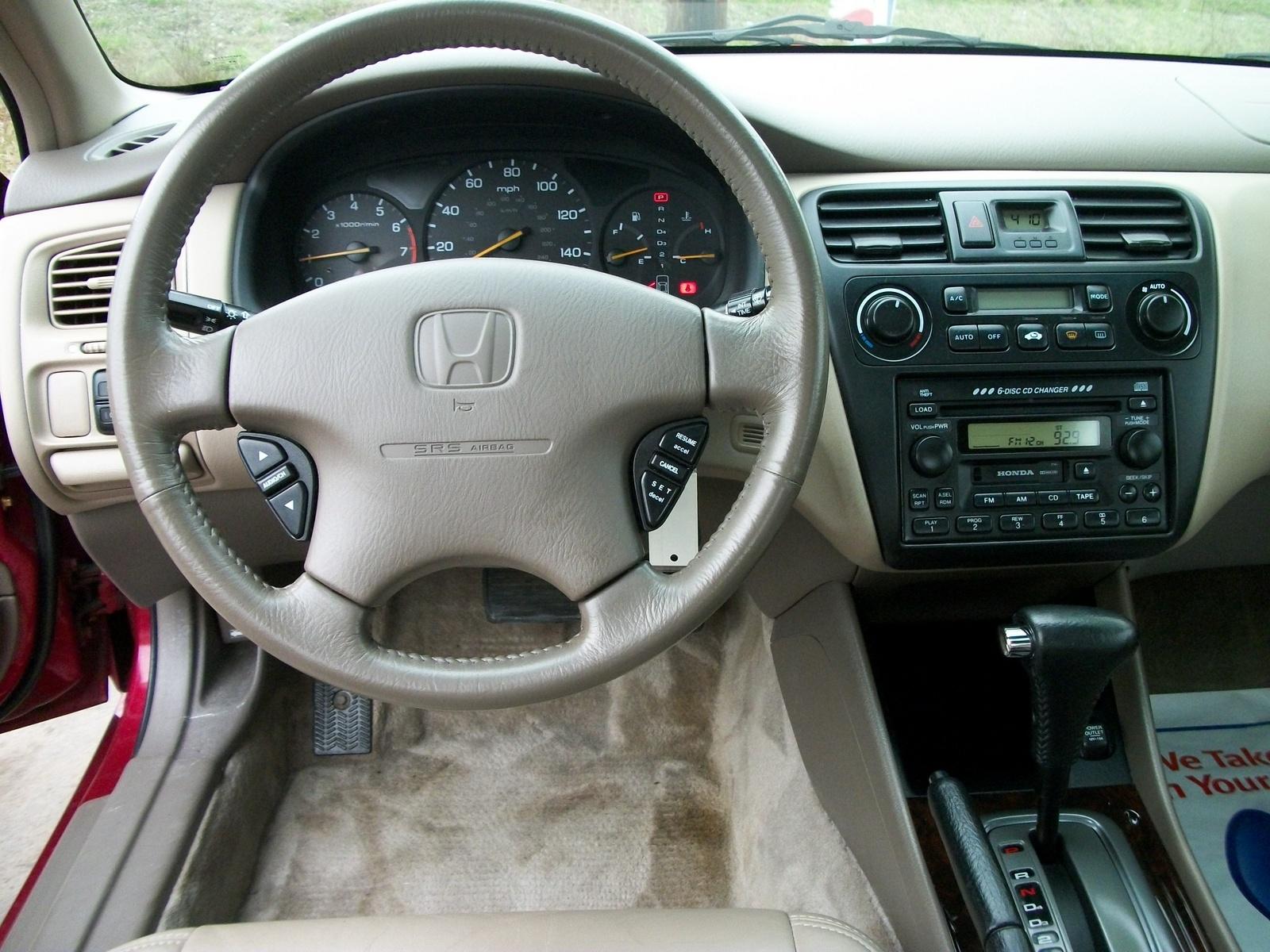 2002 Honda Accord Interior Pictures Cargurus