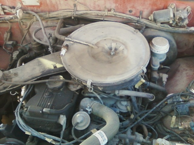 1989 Dodge RAM 50 Pickup, The motor before the head was replaced., engine, gallery_worthy