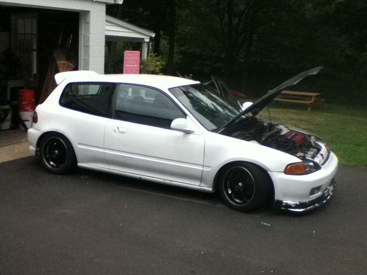 Picture of 1992 Honda Civic DX Hatchback, exterior, engine