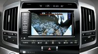 2013 Toyota Land Cruiser, Close-up rear-view camera. , interior, manufacturer