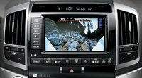 2013 Toyota Land Cruiser, Close-up rear-view camera. , manufacturer, interior