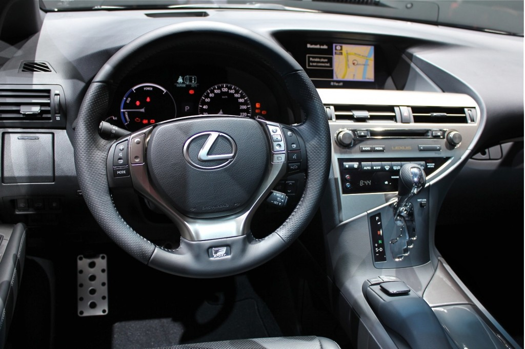 Picture of 2013 Lexus RX 450h, interior