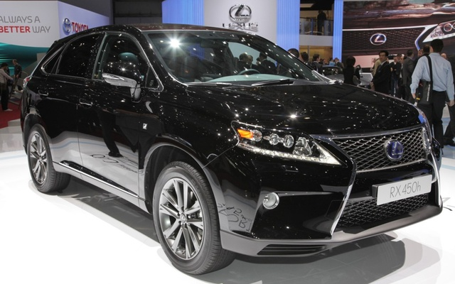 Picture of 2013 Lexus RX 450h, exterior, gallery_worthy