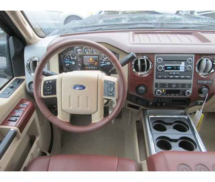 2012 Ford F-450 Super Duty King Ranch Crew Cab 8ft Bed DRW 4WD picture, interior