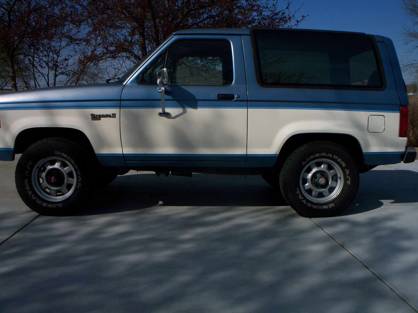 1988 ford bronco 11 rotor