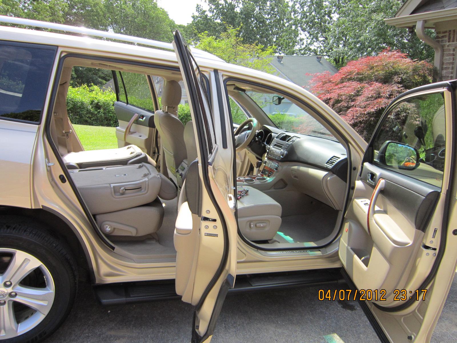 2008 Toyota Highlander Interior Pictures Cargurus