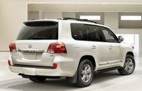 2013 Toyota Land Cruiser, Back quarter view. , manufacturer, exterior