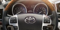 2013 Toyota Land Cruiser, Close-up of steering wheel. , interior, manufacturer