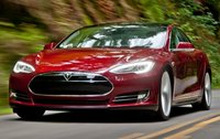 2013 Tesla Model S, Front quarter view., exterior, manufacturer