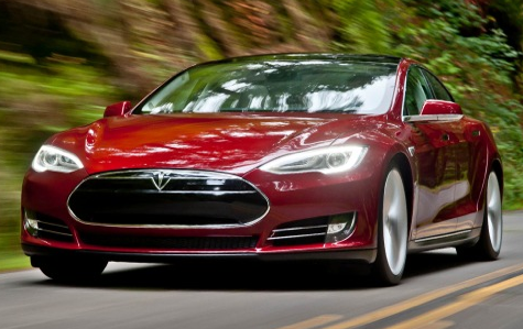 2013 Tesla Model S, Front quarter view., manufacturer, exterior