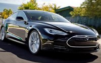 2013 Tesla Model S, Front quarter view. , exterior, manufacturer, gallery_worthy