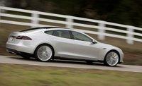 2013 Tesla Model S, Side View. , exterior, manufacturer