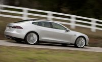 2013 Tesla Model S, Side View. , manufacturer, exterior