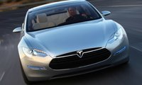 2013 Tesla Model S, Front View. , exterior, manufacturer