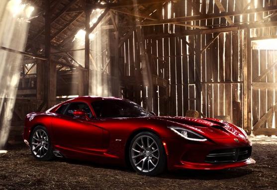 2013 SRT Viper, Front quarter view copyright Yahoo Autos., exterior, manufacturer