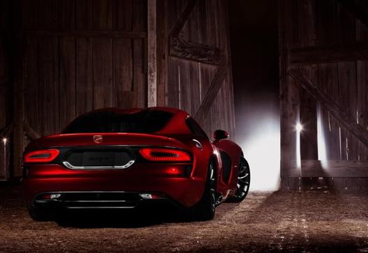 2013 SRT Viper, Back quarter view copyright Yahoo Autos. , exterior, manufacturer
