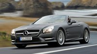 2013 Mercedes-Benz SL-Class, Front quarter view. , exterior, manufacturer