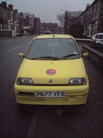 Picture of 1997 FIAT Cinquecento
