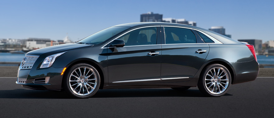 2013 Cadillac XTS, exterior left side view, exterior, manufacturer