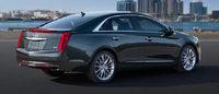 2013 Cadillac XTS, exterior right rear quarter view, exterior, manufacturer