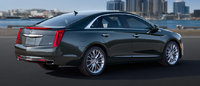 2013 Cadillac XTS, exterior right rear quarter view, manufacturer, exterior