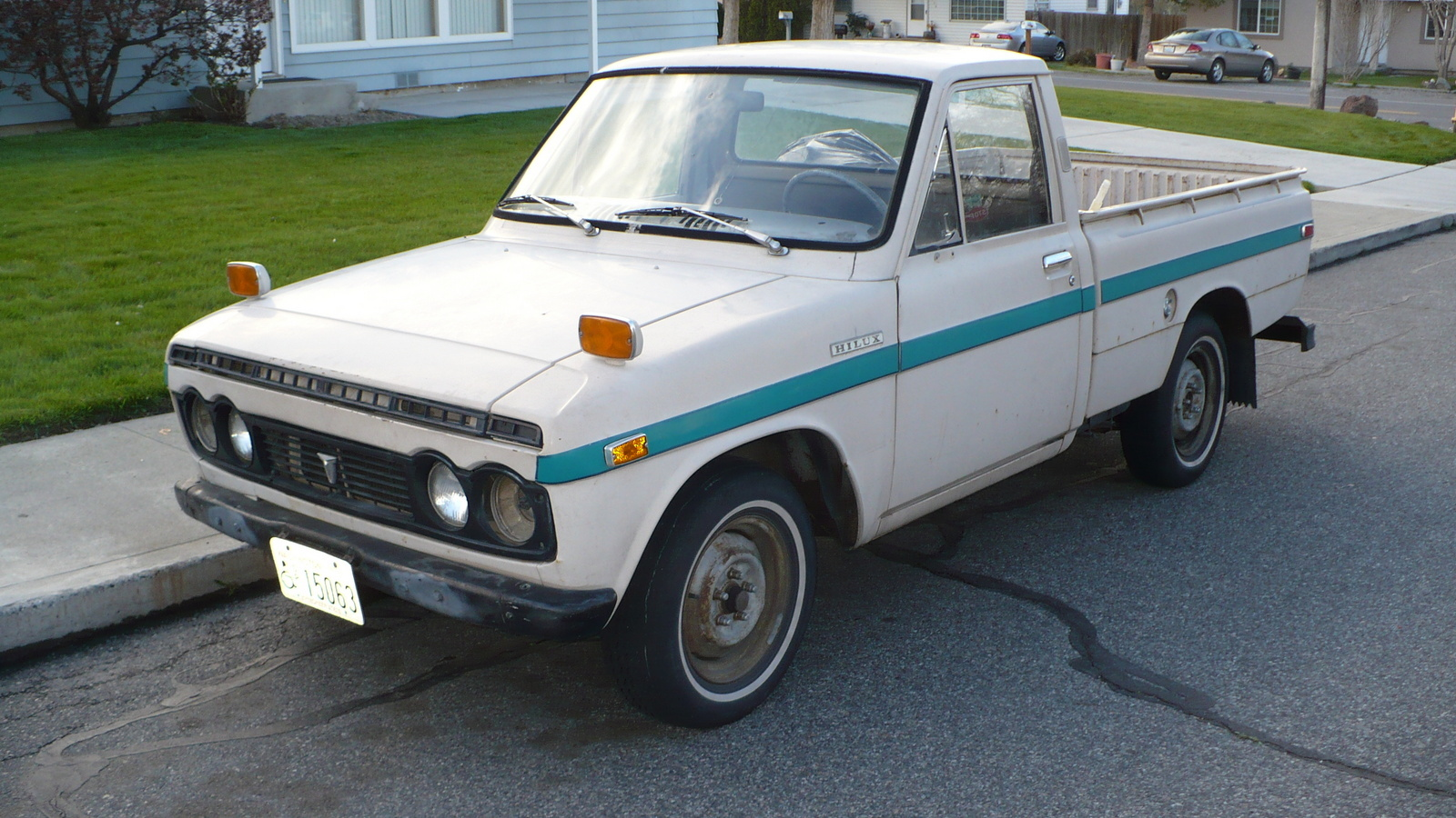 1971 Toyota Hilux Overview Cargurus