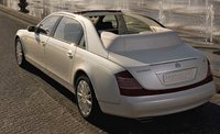 2012 Maybach 62 Landaulet Base, Exterior Left Rear Quarter View, exterior