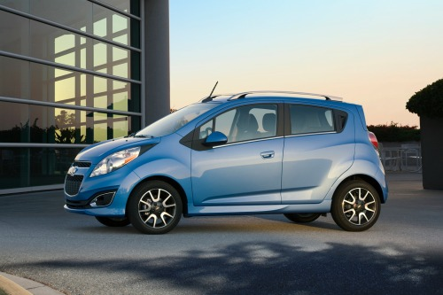 2013 Chevrolet Spark, Exterior Left Side Full View - Copyright General Motors Corporation, exterior
