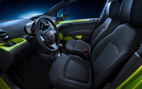 2013 Chevrolet Spark, Interior Front Side View - Copyright General Motors Corporation, interior