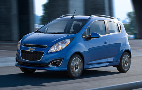 2013 Chevrolet Spark, Exterior Left Front Quarter View - Copyright General Motors Corporation, exterior