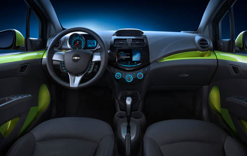 2013 Chevrolet Spark, Interior Front View - Copyright General Motors Corporation, interior