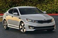 2012 Kia Optima Hybrid LX, Exterior Right Front Quarter View © Hyundai Motor Company, exterior