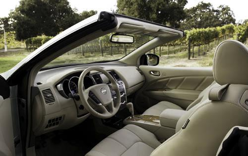 2012 Nissan Murano CrossCabriolet Base, Interior Front Side View © Nissan Motors Corporation, USA, interior