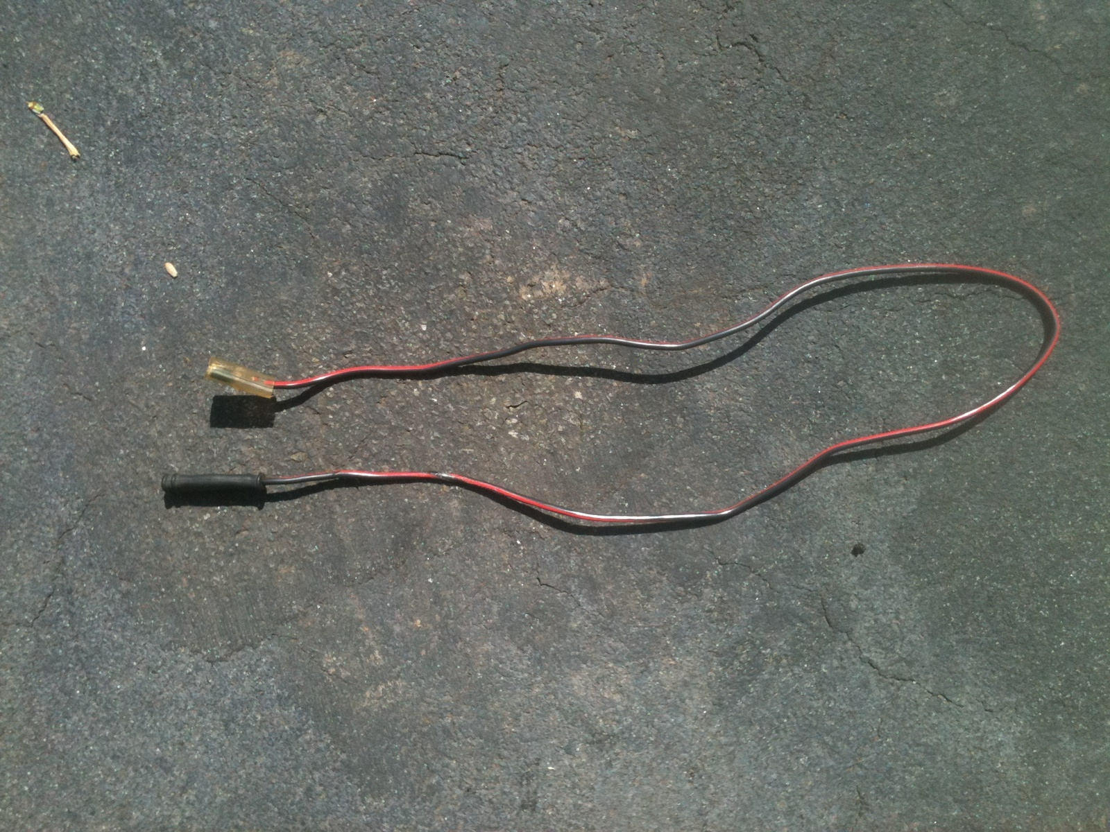 Porsche 944 Questions - Ihave a red and black wire with two female ...