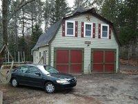 1998 Honda Accord EX, Front Barn, exterior