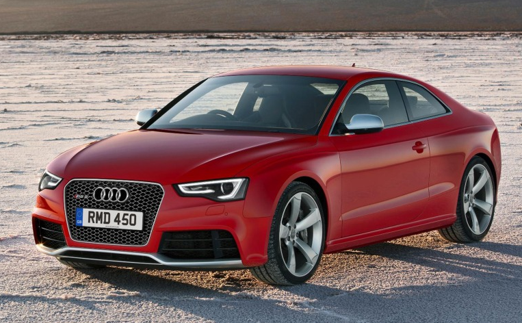 2013 Audi RS 5 Coupe, Front quarter view. , exterior, manufacturer